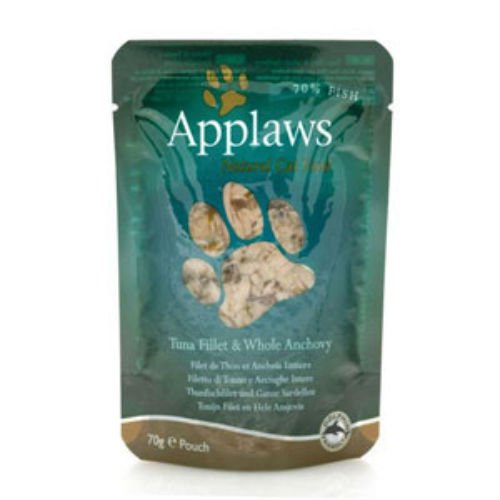 Applaws Tuna Fillet And Whole Anchovy Cat Food (Case Of 8) 70G 70g Case