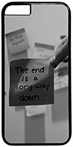 The End Is A Long Way Down Apple iPhone 6 Plus Case, iPhone 6 Plus (5.5 inch) PC Black Hard Shell Cover Skin Cases