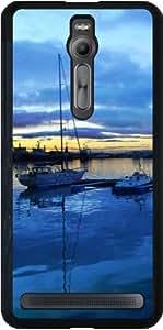 Funda para Asus Zenfone 2 (ZE551ML) - Playa En Islandia 2 by Cadellin