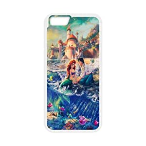 Disneys Lilo and Stitch iPhone 6 Plus 5.5 Inch Cell Phone Case White Exquisite gift (SA_632044)