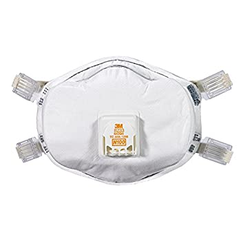 3M 8233PA1-A Lead Paint Removal Valved Respirator