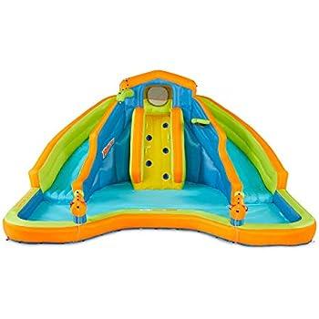 Amazon Com Banzai Sidewinder Falls 15 Foot Inflatable