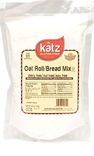 Katz Gluten Free Oat Roll/Bread Mix, 24 Ounce, Certified Gluten Free - Kosher - Dairy, Nut & Soy free - (Pack of - Recipe Wheat Honey Bread