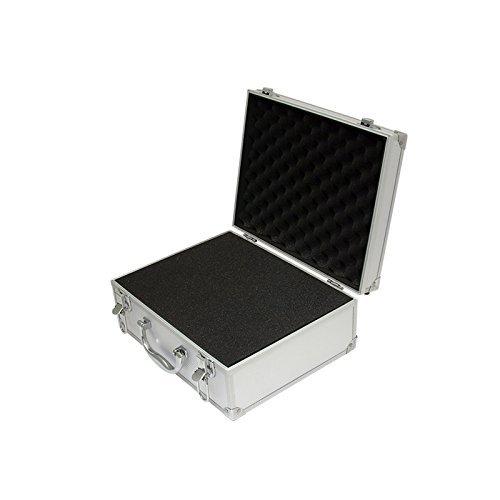SRA Cases EN-AC-FG-A009 Aluminum Hard Case, 12.2 x 9.5 x 5.1 Inches with - Aluminum Case Hard
