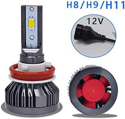 [スポンサー プロダクト]Bojin Industry LED ヘッドライト H8 H9 H11 3色切替 3000K 4300K 6000K 放熱抜群 2個セット 1年保証 (H8/H9/H11)