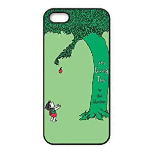 Painted The Giving Tree TPU Hard back phone Case cover Iphone 5s 5