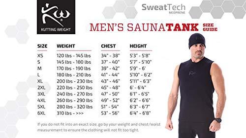 Kutting Weight Sauna – Shirt Body Toning Clothing – Fat Burner Tank Top