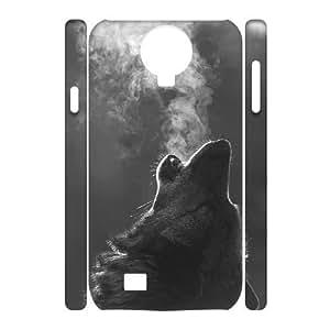 Custom New Case for SamSung Galaxy S4 I9500 3D, Wolf Phone Case - HL-R664855