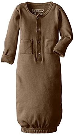 Amazon L ovedbaby Organic Infant Gown Clothing