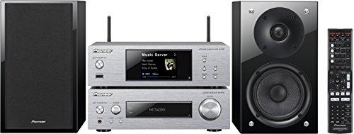 Pioneer P2-S Kompaktanlage (Stereo-Receiver, Netzwerk Player, 2x 75 Watt, Direct Energy HD Endstufen, WiFi, Bluetooth) silber