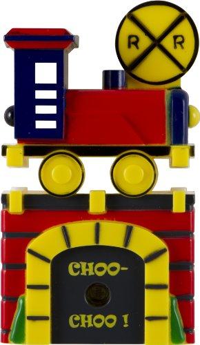 - Jasco Train Light-Sensing LED Night Light, Red/Blue/Green/Yellow 13350