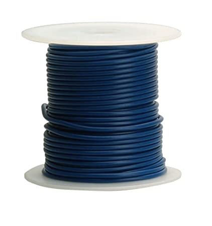 Coleman Cable 16-100-12 Primary Wire, 16-Gauge 100-Feet Bulk Spool ...