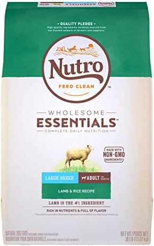 NUTRO WHOLESOME ESSENTIALS Large Breed Adult Lamb Rice Dry Dog Food