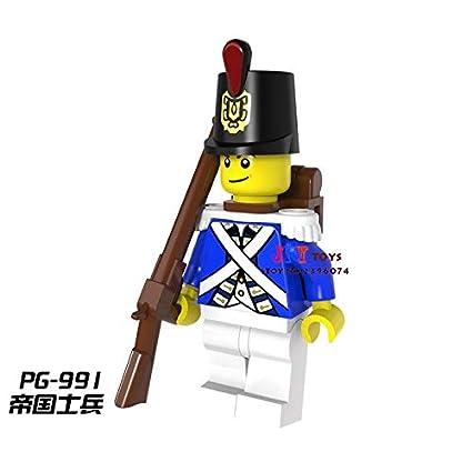 Model Building Blocks 50pcs Starwars Imperial Red Coat Soldier Building Blocks Bricks Friends For Boy Kids Children Toys Brinquedos Menina