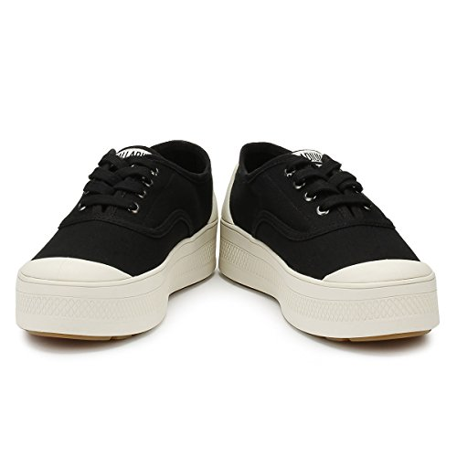 Canvas Negro Sub Mujer para Zapatillas Marshmallow Palladium Low g8Ax1
