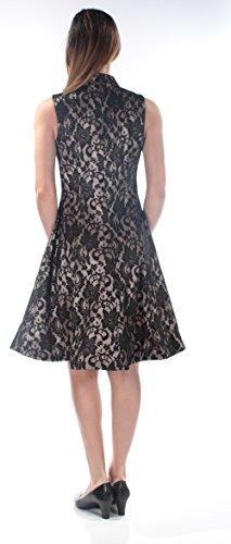 Sleeveless New 1029 Womens B Lace 158 Black Line Keyhole A Dress Jax B 6 5q0pTE