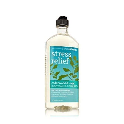 Bath & Body Works Aromatherapy Wash & Foam Bath Cedarwood & Sage Stress Relief