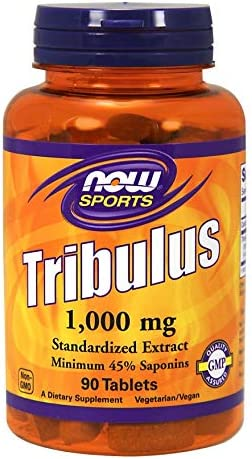 Now Foods Tribulus 1000mg 90 Tabs by Now Foods, 1.0 Count