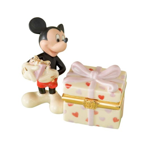 Lenox Disney Classics Mickey's Heartfelt Treasure Box