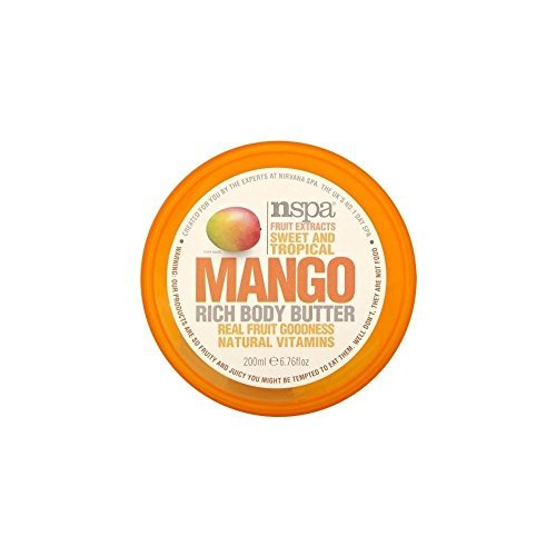 N-Spa Fruit Extracts Sweet and Tropical Mango Rich Body Butter (200ml)