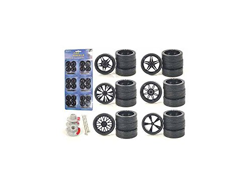 Other 2003B Custom Wheels for 1/24 Scale Cars and Trucks 24pc Wheels & Tires (Custom Cars And Trucks)