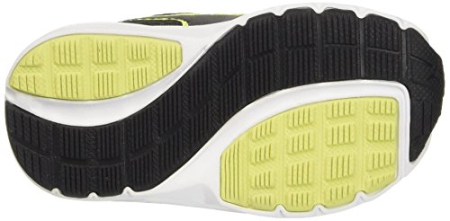Puma Descendant V4 V Inf Sneaker, Negro/Safety Yellow, 8