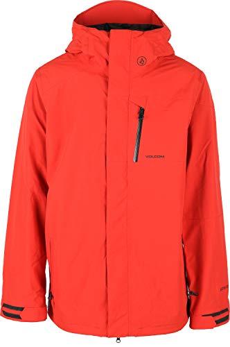 Volcom M Gore-Tex Snowboard Jacket Mens Sz M Burnt Orange