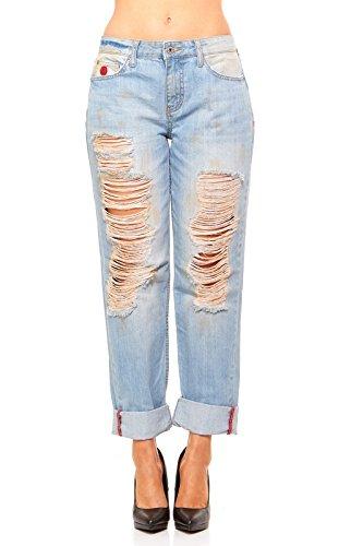 Christopher Blue Corduroy Jeans - 7