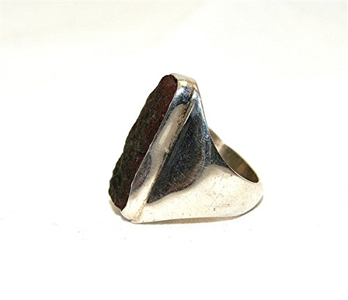 Moldavite Ring Jewellery - Sterling Silver