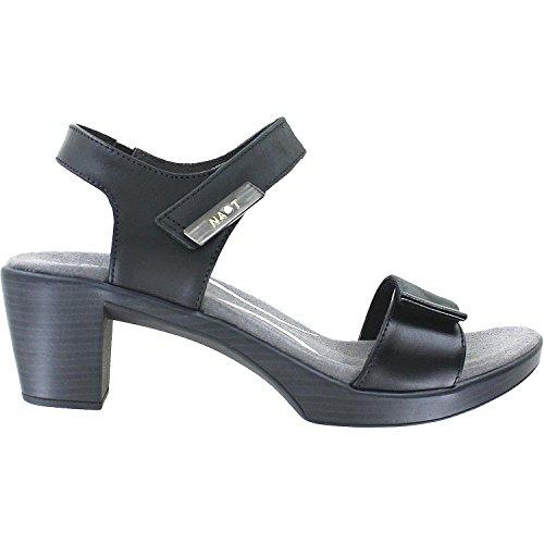 NAOT Women's Intact Anatomic Sandals, Black, Leather, Suede, Cork, Latex, 39 M EU, 8-8.5 M
