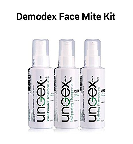 Mite Kit (Demodex Essential Kit A2 - Human Face & Body | Natural Herbal Treatment | Innovative Technology | 3 In 1 Solution | Relief from Inflammation | Eradicates All Demodex Mites | Face Mite Kit)
