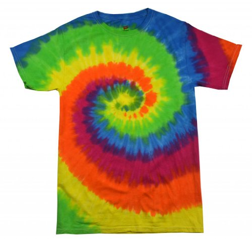 Swirl Tie Dye Shirt (Buy Cool Shirts Kids Tie Dye Shirt Multi Color Swirl Moondance T-Shirt 2-4)