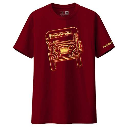 TFC Store Jeepney Biyaheng Pinas Shirt (Maroon, Large) (Daly City Stores)