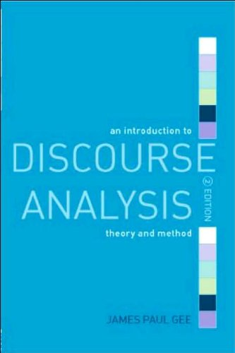 An Introduction to Discourse Analysis (text only) 2nd(Second) edition by J. P. Gee