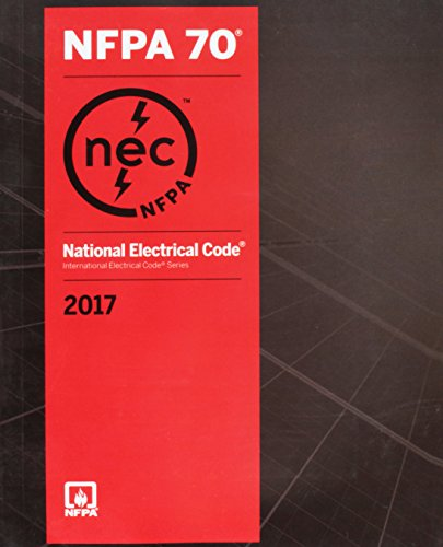 - National Electrical Code 2017