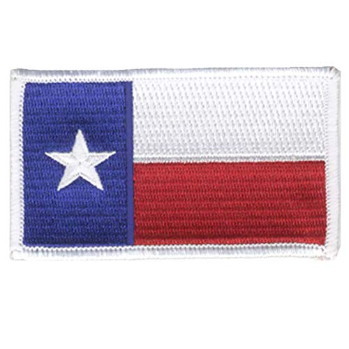 - Strange Cargo Texas State Flag Full Color FullyEmbroidered Patch 2.5