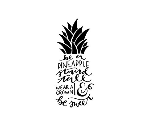 Be a Pineapple Vinyl Decal Sticker
