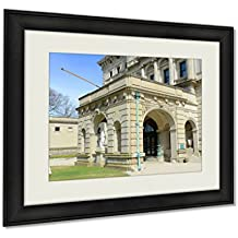 Ashley Framed Prints, The Breakers Is A One Of The Most Fabulous Building Built In 1893 For Cornelius, Black, 24x30 Art, AG6011866
