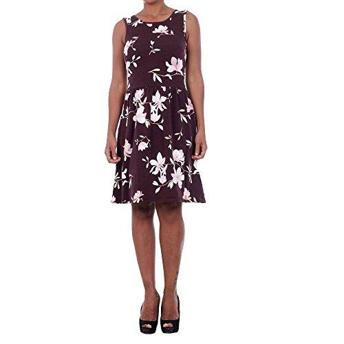 Vestido Only Mujer Morado 15130819 ONLSUMMER NIELLA S/L SHORT DRESS JRS POTENT PURPLE/FLOWER