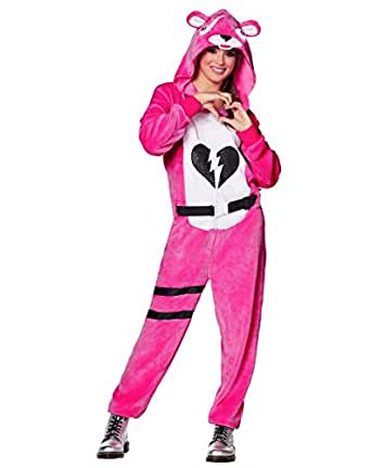 Adult cuddle team leader plush fortnite costume officially licensed clothing - Cuddle team leader from fortnite ...