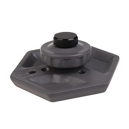 SODIAL Replacement Hexagonal Quick Release Plate with 1/4inc