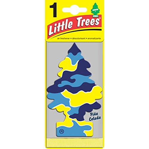 UPC 076171329677, Little Trees Hanging Car and Home Air Freshener, Pina Colada (Pack of 3)