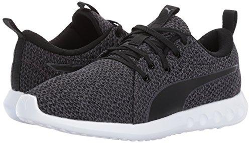 periscope Carson Puma Pour Femmes Sneaker 2 Black Knit fgSB1q
