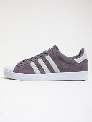 Adidas Skateboarding - Zapatillas de skateboarding para hombre GREY WHITE
