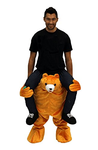 Faerynicethings Adult Size Ride on Bear Costume - Carry Me - (Carry Me Costume Bear)