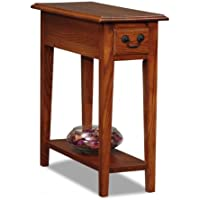 Narrow End Table (Medium Brown) (2H x 10W x 2D)