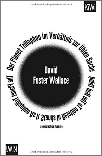 Der Planet Trillaphon im Verhältnis zur Üblen Sache: zweisprachige Ausgabe, Deutsch - Englisch