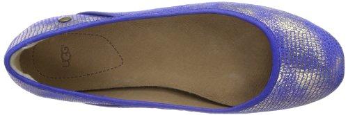 UGG Antora Lizard - Cerrado de cuero mujer azul - Blau (IBT)