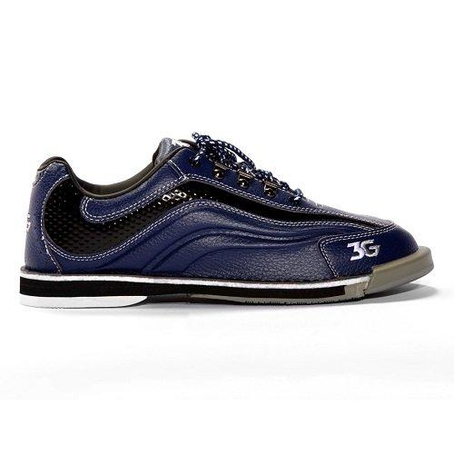 900 Global Sport Ultra Bowling Shoes, Blue/Black, Men's 7.5