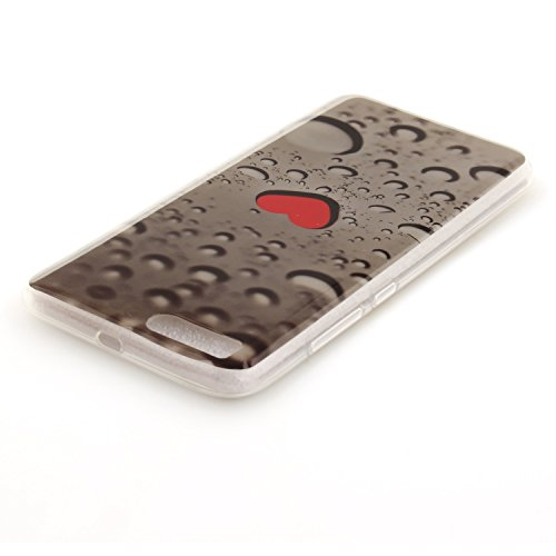 Protection Arrière Silicone Cas Mi Xiaomi Antichoc Scratch En Slim Peint Souple Bord Waterdrop Téléphone Résistant Couverture De TPU Cas Transparent Motif Hozor 6 De Fit t1Pzwz